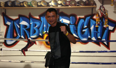 Mr Pik our resident Thai Trainer returns to Urban Fight Gym!!
