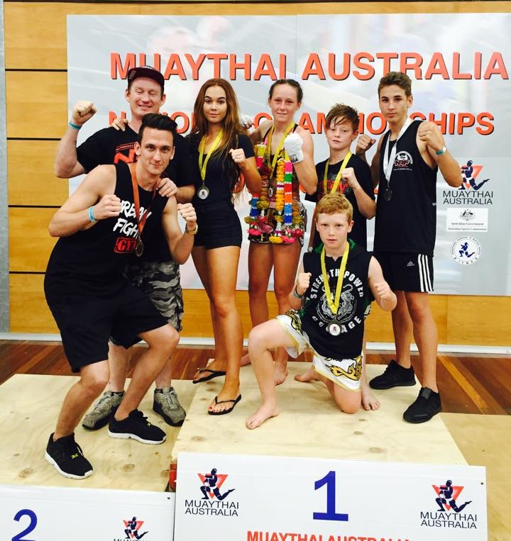 Urban Fighters bring home Gold, Silver and Bronze Medals