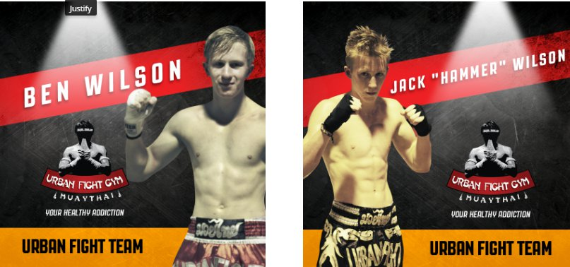 Wilson Twins to Fight Siam Cup 14
