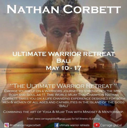 Ultimate Warrior Retreat with Nathan Carnage Corbett