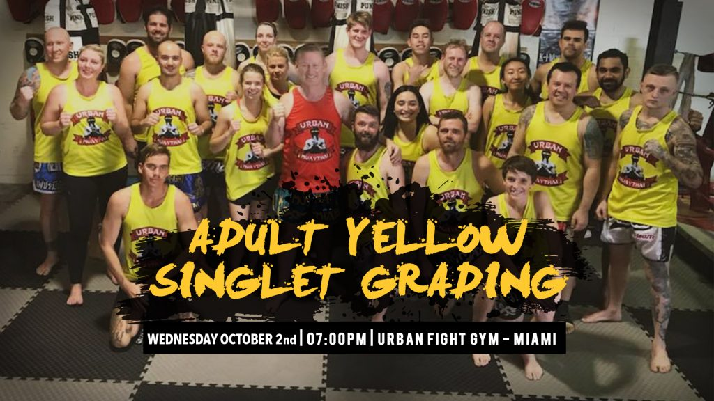 Miami Adult Yellow Grading