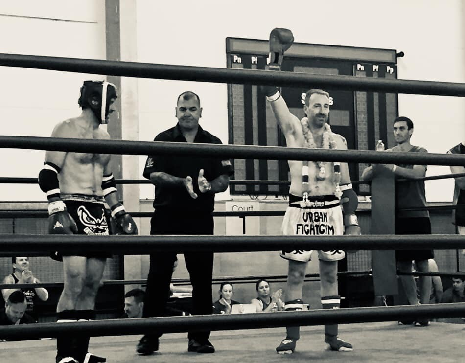 Nathan winning at the 2019 IFMA World Championships