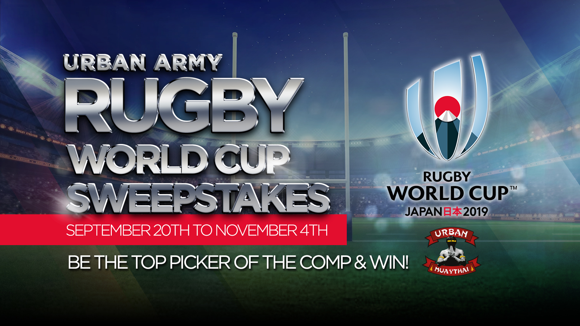 October Rugby Sweepstakes Recap