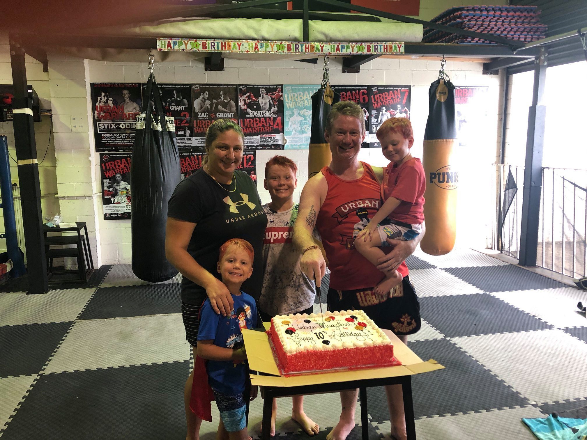 Happy Birthday Urban Muaythai!