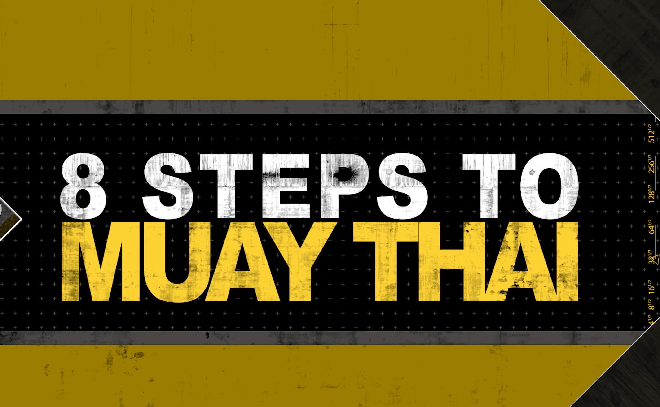 8 Steps to Muaythai