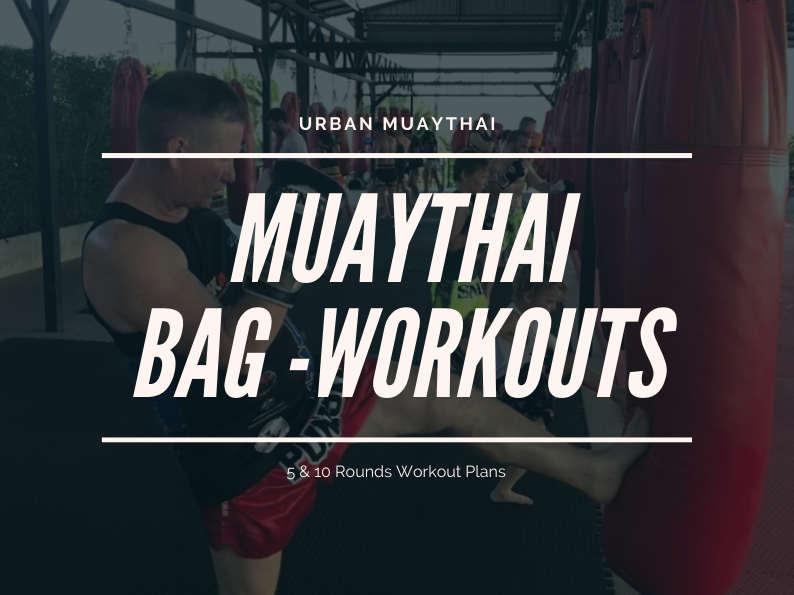 Muaythai Bag Work