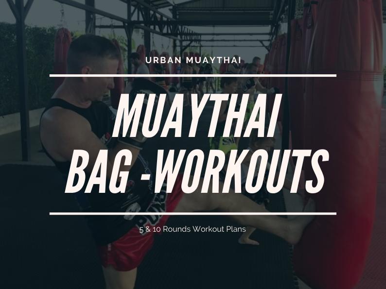 Muaythai Bag Work