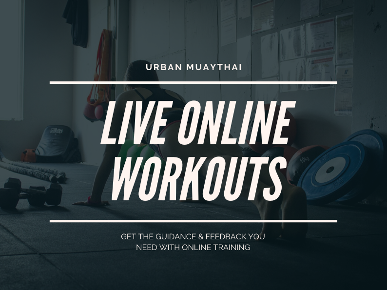 LIVE WORKOUTS – ONLINE